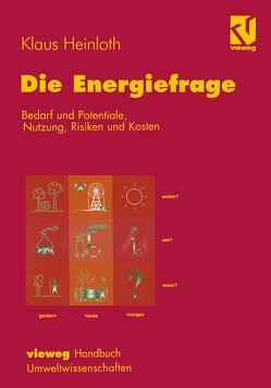 Die Energiefrage von Heinloth,  Klaus, Röß,  Dieter