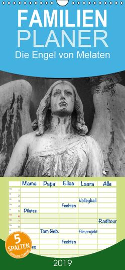 Die Engel von Melaten – Familienplaner hoch (Wandkalender 2019 , 21 cm x 45 cm, hoch) von Klein,  Patrick