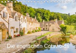 Die englischen Cotswolds (Tischkalender 2021 DIN A5 quer) von Perner,  Stefanie