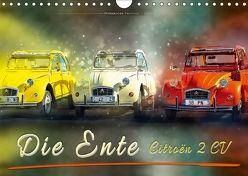 Die Ente – Citroën 2CV (Wandkalender 2018 DIN A4 quer) von Roder,  Peter