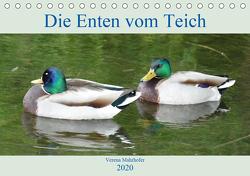 Die Enten vom Teich (Tischkalender 2020 DIN A5 quer) von Mahrhofer,  Verena