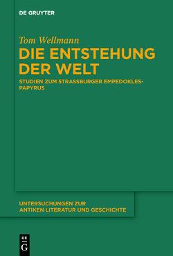 Die Entstehung der Welt von Wellmann,  Tom