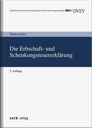 Die Erbschaft- und Schenkungsteuererklärung von Halaczinsky,  Raymond