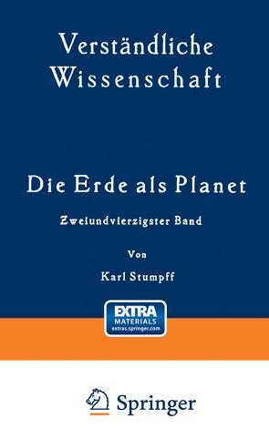 Die Erde als Planet von Loewen,  H., Stumpff,  Karl