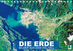 Die Erde: Bilder aus dem Weltall (Tischkalender 2021 DIN A5 quer) von CALVENDO