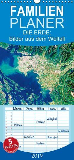 Die Erde: Bilder aus dem Weltall (Wandkalender 2019 <strong>21 cm x 45 cm</strong> hoch) von CALVENDO