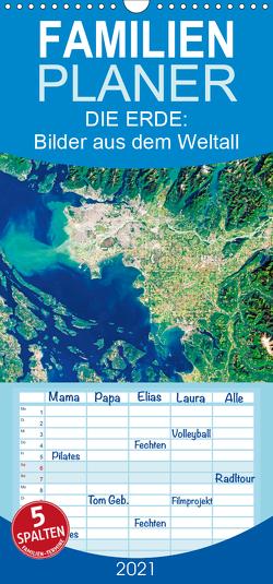 Die Erde: Bilder aus dem Weltall (Wandkalender 2021 , 21 cm x 45 cm, hoch) von CALVENDO