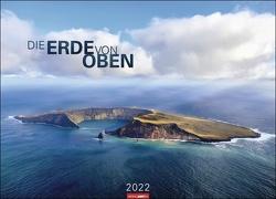Die Erde von oben Kalender 2022 von Weingarten