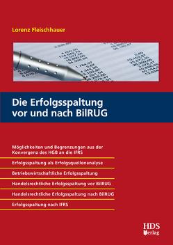 Die Erfolgsspaltung vor und nach BilRUG von Fleischhauer,  Lorenz