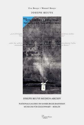 Die Eröffnung 1965… irgend ein Strang… Wie man dem toten Hasen die Bilder erklärt von Beuys,  Joseph