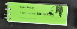 DIE ERSTEN von Urban,  Klaus
