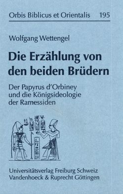 Die Erzählung von den beiden Brüdern von Wettengel,  Wolfgang