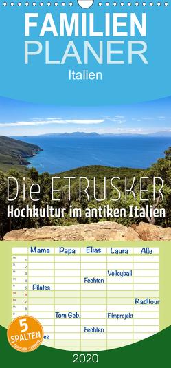 Die Etrusker – Hochkultur im antiken Italien – Familienplaner hoch (Wandkalender 2020 , 21 cm x 45 cm, hoch) von - Monika Hoffmann,  Reise-Zikaden.de