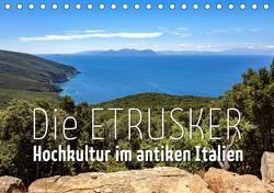 Die Etrusker – Hochkultur im antiken Italien (Tischkalender 2021 DIN A5 quer) von - Monika Hoffmann,  Reise-Zikaden.de