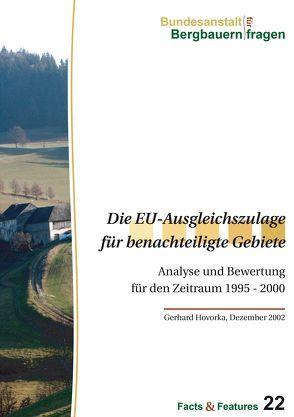 Die EU-Ausgleichszulage für benachteiligte Gebiete von Gerhard,  Hovorka
