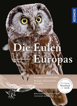 Die Eulen Europas von Daunicht,  Wolfgang, Mebs,  Theodor, Scherzinger,  Wolfgang