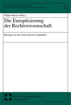 Die Europäisierung der Rechtswissenschaft von Ranieri,  Filippo