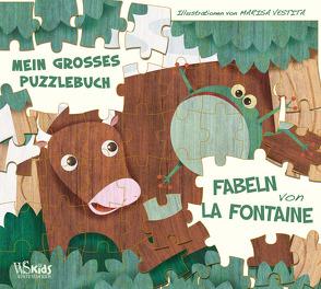 Die Fabeln von La Fontaine von Kohler,  Britta, Vestita,  Marisa