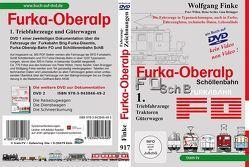 Die Fahrzeuge der Furka-Oberalp-Bahn Teil 1 von Finke,  Wolfgang
