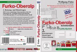Die Fahrzeuge der Furka-Oberalp-Bahn Teil 2 von Finke,  Wolfgang