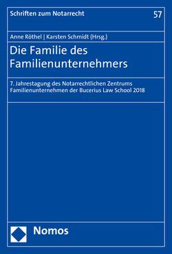 Die Familie des Familienunternehmers von Röthel,  Anne, Schmidt,  Karsten