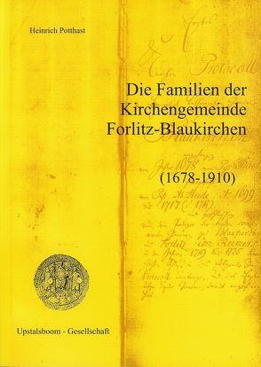 Die Familien der Kirchengemeinde Forlitz-Blaukirchen von Potthast,  Heinrich