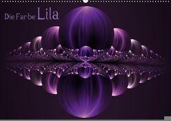 Die Farbe Lila / AT-Version (Wandkalender 2018 DIN A2 quer) von Art,  gabiw