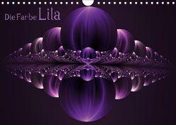 Die Farbe Lila / CH-Version (Wandkalender 2019 DIN A4 quer) von Art,  gabiw