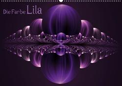 Die Farbe Lila / CH-Version (Wandkalender 2021 DIN A2 quer) von Art,  gabiw