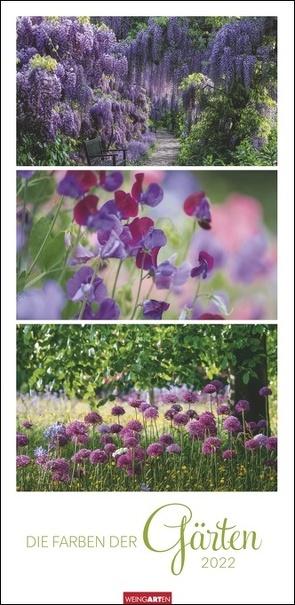 Die Farben der Gärten Kalender 2022 von Weingarten