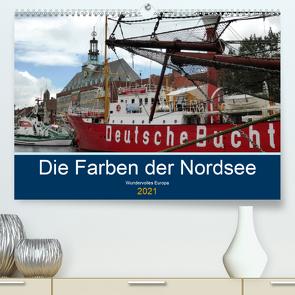 Die Farben der Nordsee (Premium, hochwertiger DIN A2 Wandkalender 2021, Kunstdruck in Hochglanz) von cycleguide