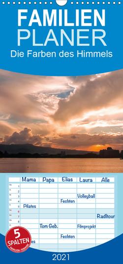 Die Farben des Himmels – Familienplaner hoch (Wandkalender 2021 , 21 cm x 45 cm, hoch) von Dr. Günter Zöhrer,  ©