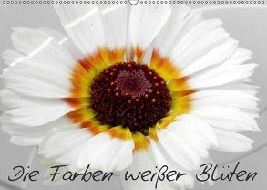 Die Farben weißer Blüten (Wandkalender 2018 DIN A2 quer) von Knodt,  Birgit