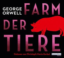 Die Farm der Tiere von Herbst,  Christoph Maria, Orwell,  George, Wolff,  Lutz-W.
