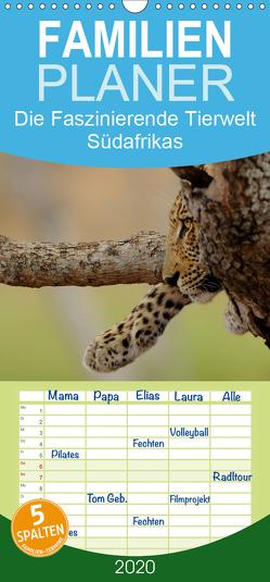 Die Faszinierende Tierwelt Südafrikas – Familienplaner hoch (Wandkalender 2020 , 21 cm x 45 cm, hoch) von Schmalhofer,  Christian