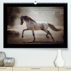 Die Faszinierende Welt der Pferde (Premium, hochwertiger DIN A2 Wandkalender 2020, Kunstdruck in Hochglanz) von Mischnik,  Sabrina