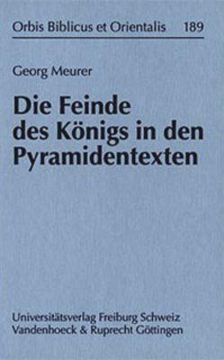 Die Feinde des Königs in den Pyramidentexten von Meurer,  Georg