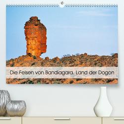 Die Felsen von Bandiagara. Land der Dogon (Premium, hochwertiger DIN A2 Wandkalender 2021, Kunstdruck in Hochglanz) von Bombaert,  Patrick