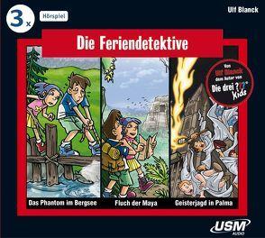 Die Feriendetektive 3-er Hörbox 1 von Blanck,  Ulf