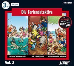 Die Feriendetektive 3-er Hörbox 3 von Blanck,  Ulf