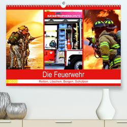 Die Feuerwehr 2020. Retten, Löschen, Bergen, Schützen (Premium, hochwertiger DIN A2 Wandkalender 2020, Kunstdruck in Hochglanz) von Lehmann (Hrsg.),  Steffani