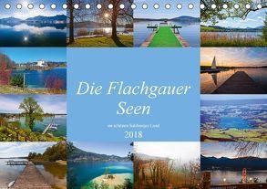 Die Flachgauer Seen (Tischkalender 2018 DIN A5 quer) von Kramer,  Christa