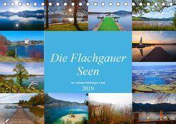Die Flachgauer Seen (Tischkalender 2019 DIN A5 quer) von Kramer,  Christa