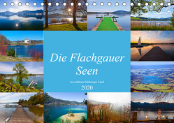 Die Flachgauer Seen (Tischkalender 2020 DIN A5 quer) von Kramer,  Christa