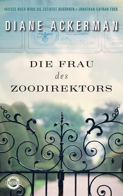 Die Frau des Zoodirektors von Ackerman,  Diane, Naegele,  Christine