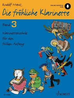 Die fröhliche Klarinette von Mauz,  Rudolf, Schürmann,  Andreas