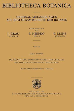Die Frucht- und Samenstrukturen der Oleaceae von Rohwer,  Jens G