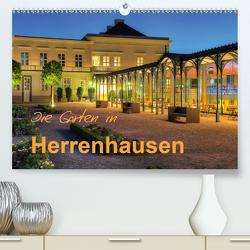 Die Gärten in Herrenhausen (Premium, hochwertiger DIN A2 Wandkalender 2020, Kunstdruck in Hochglanz) von Hasche,  Joachim