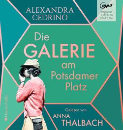 Die Galerie am Potsdamer Platz von Cedrino,  Alexandra, Thalbach,  Anna