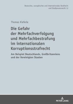 Die Gefahr der Mehrfachverfolgung und Mehrfachbestrafung im internationalen Korruptionsstrafrecht von Kieferle,  Thomas
